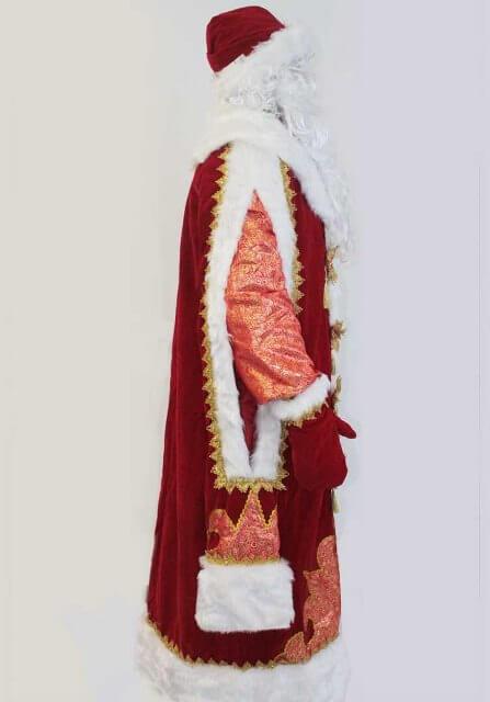 Царский костюм деда мороза в Волгограде
