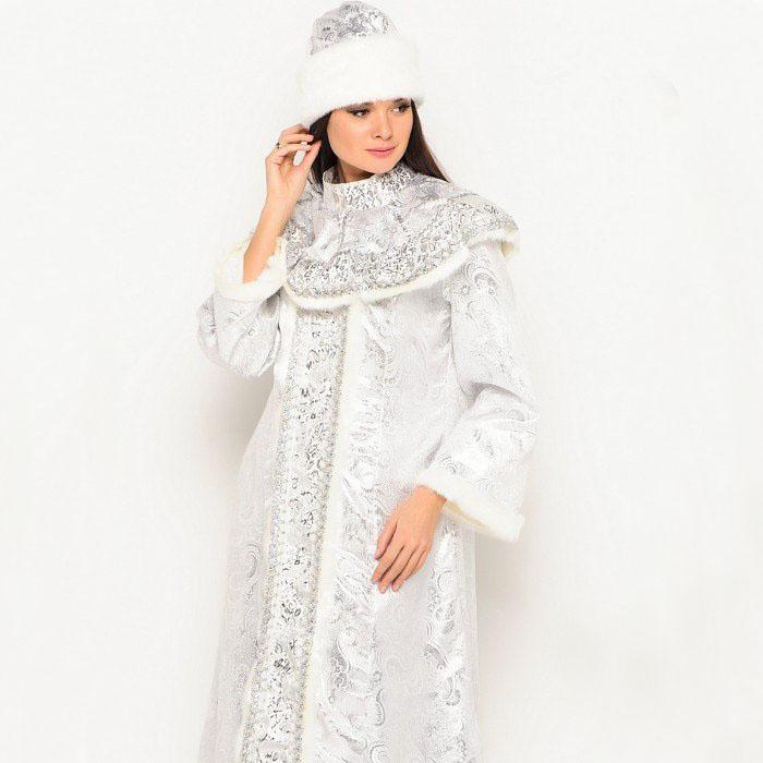 Серебряный костюм Снегурочки в Волгограде