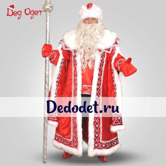 Кремлевский костюм деда Мороза в Волгограде