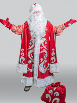 Костюм Деда Мороза Богатый в Волгограде