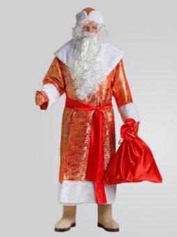 Костюм Деда Мороза Золотой Парчовый  в Волгограде