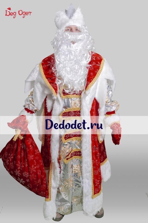 Королевский костюм Деда Мороза в Волгограде