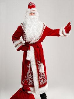 Дед Мороз с Аппликацией батик Костюм Деда Мороза Аппликация в Волгограде