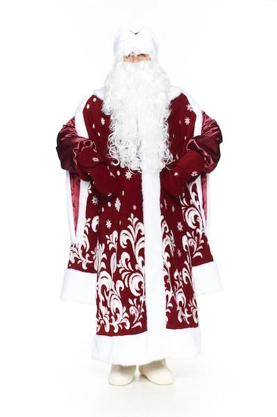 Бордовый новогодний костюм в Волгограде