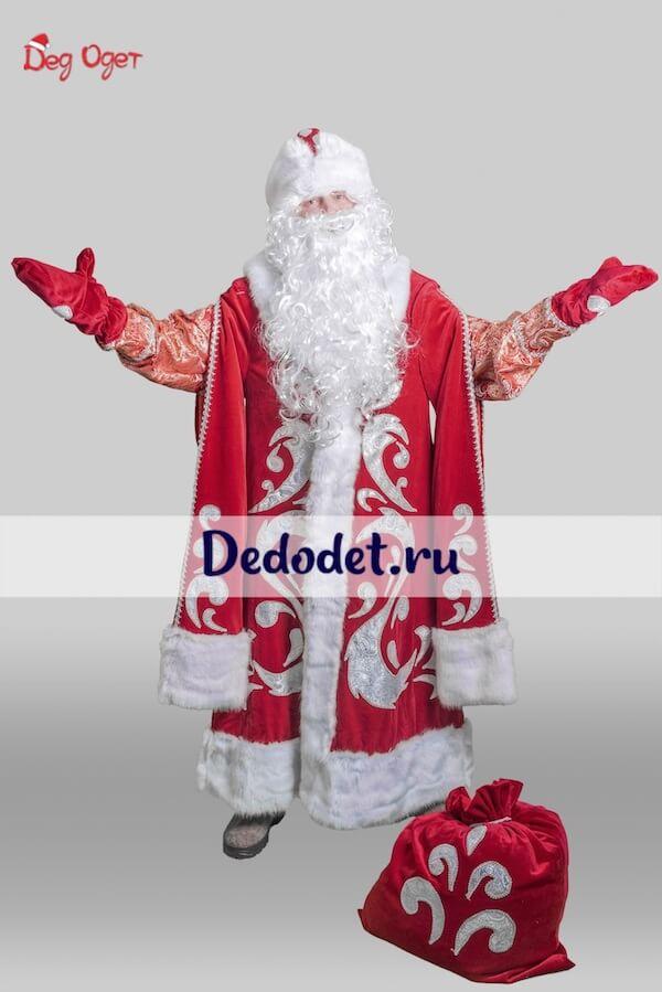 Богатый костюм деда мороза в Волгограде