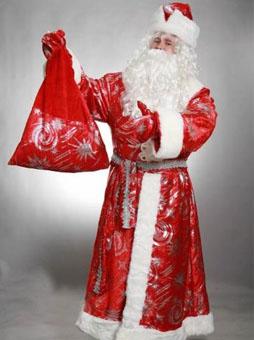 Костюм Деда Мороза с узорами в Волгограде