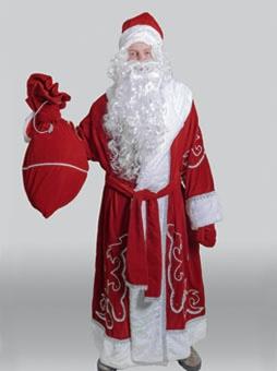 Костюм Деда Мороза Традиционный в Волгограде